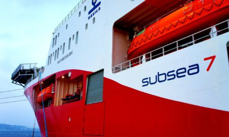 Vagas offshore na Subsea 7